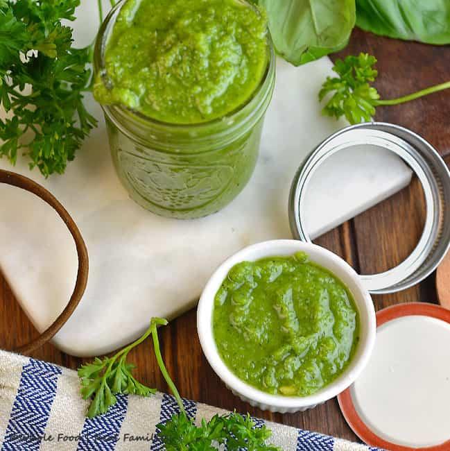 Easy Pesto Recipe