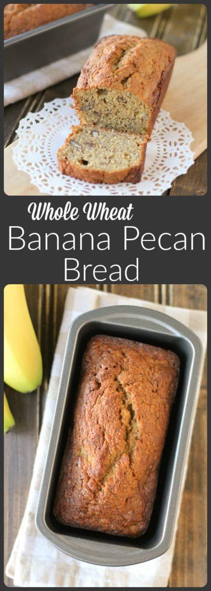 Banana Pecan Bread