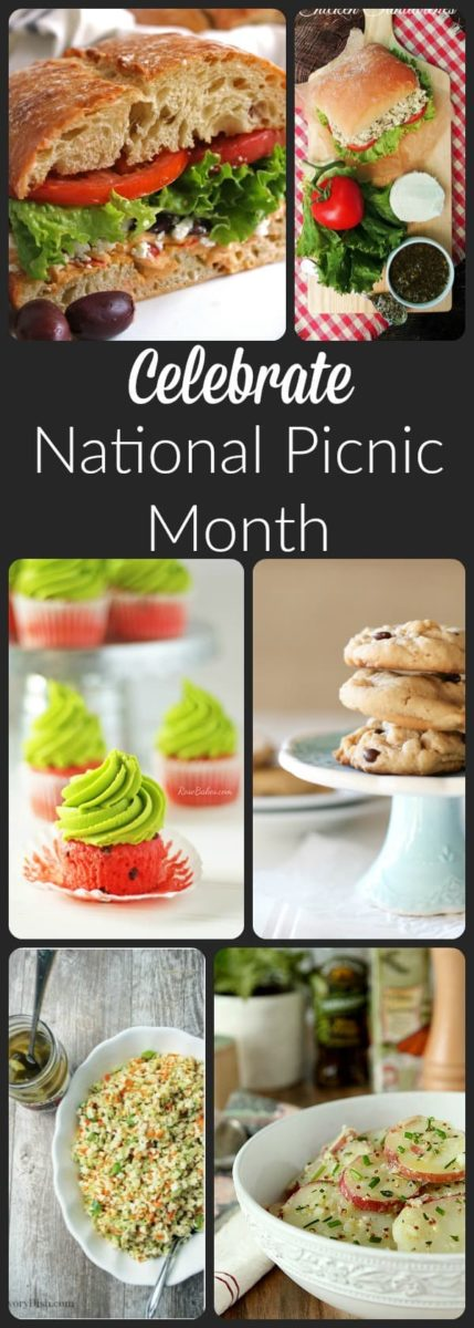 Picnic Menu Ideas for National Picnic Month