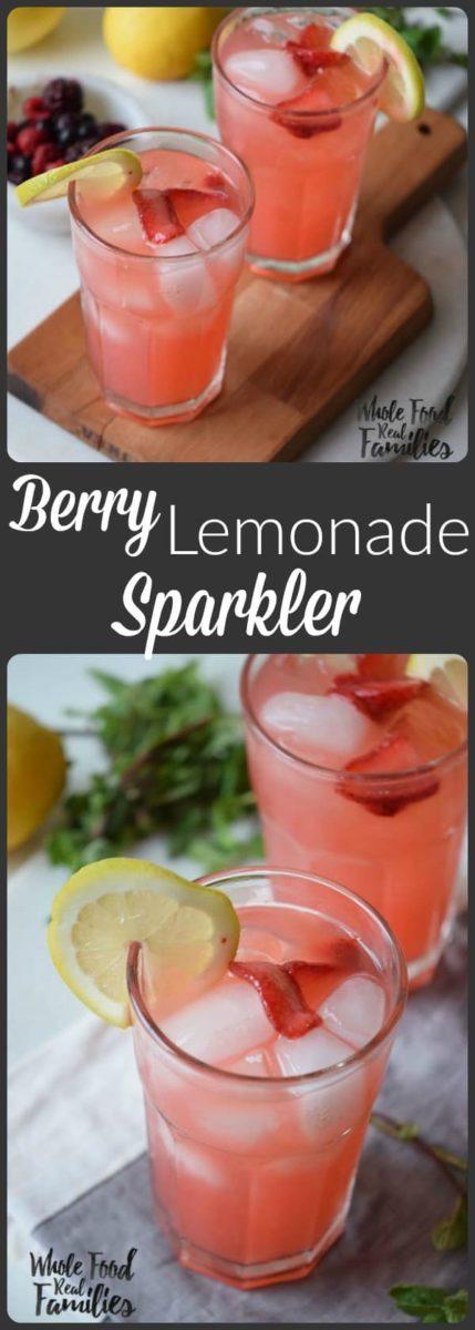 Berry Lemonade Cooler