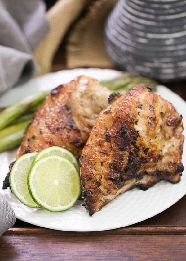 Grilled Thai Chicken for National Chicken Month