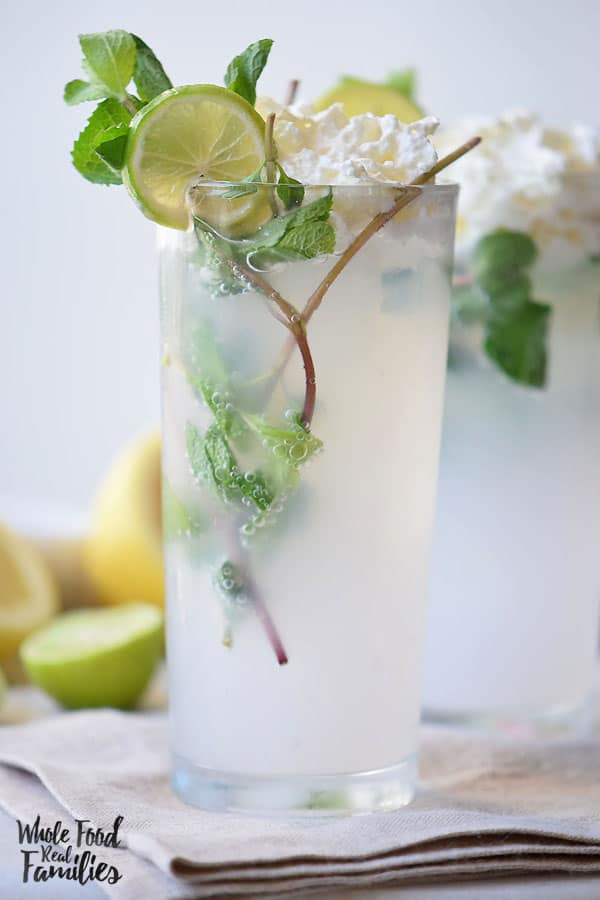 Make it a Mocktail or a Cocktail, but make this Mojito Float and then go find the nearest shade and cool yourself off! @wholefoodrealfa