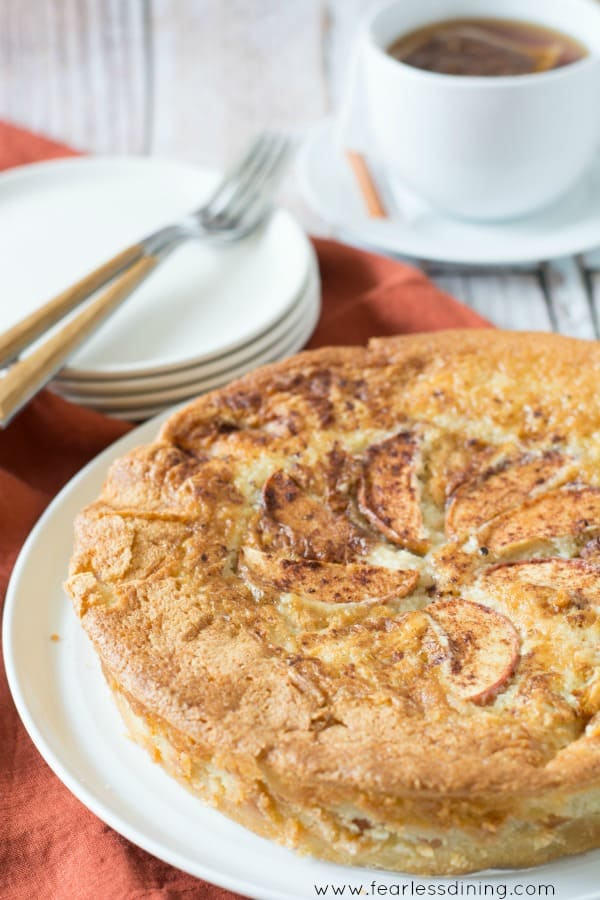 Fool Proof Creamy Apple Cake