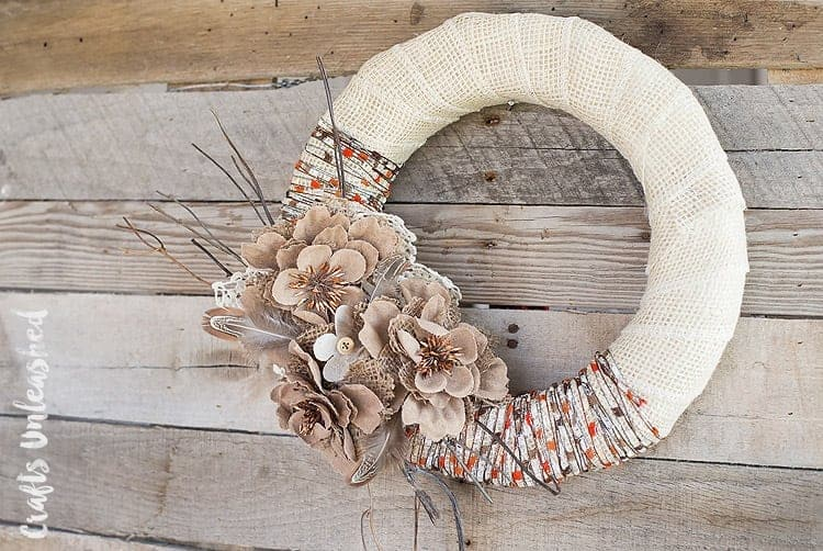 27 DIY Easy Burlap Crafts - Whole Food | Real Families