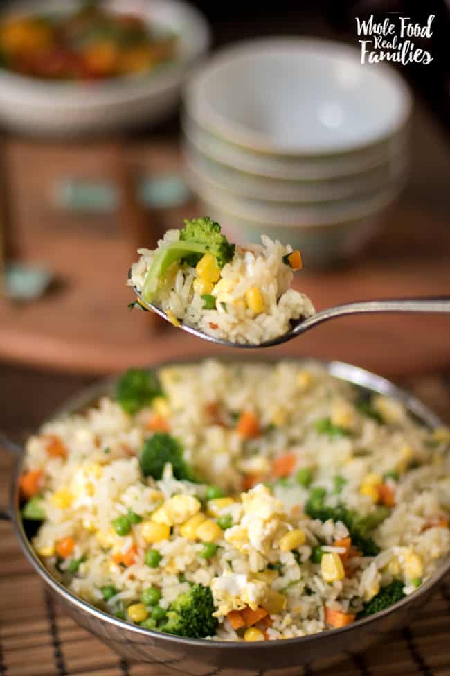 Healthy Vegetable Fried Rice Recipe