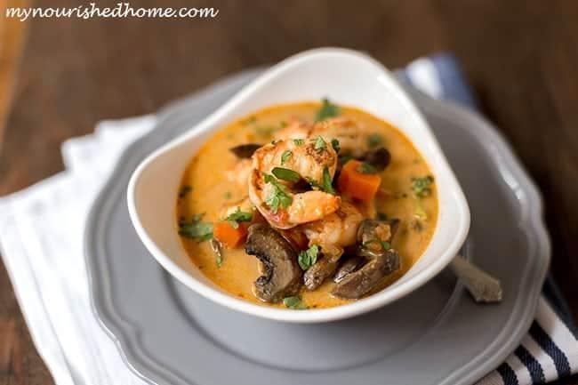 Shrimp Coconut Curry Recipe